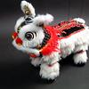 春節・旧正月/中国獅子舞/あやつり人形/マリオネット/白赤赤/色違いです