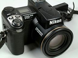 NIKON/デジカメ/coolpix/5700とACアダプター/EH-53