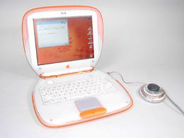 Apple/iBook/クラムシェル/タンジェリン/AC付