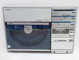Sharp/縦型レコード再生コンポ/VZ-V30/ジャンク