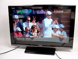 32インチTV/REGZAレグザ32A-8000/軽い難有